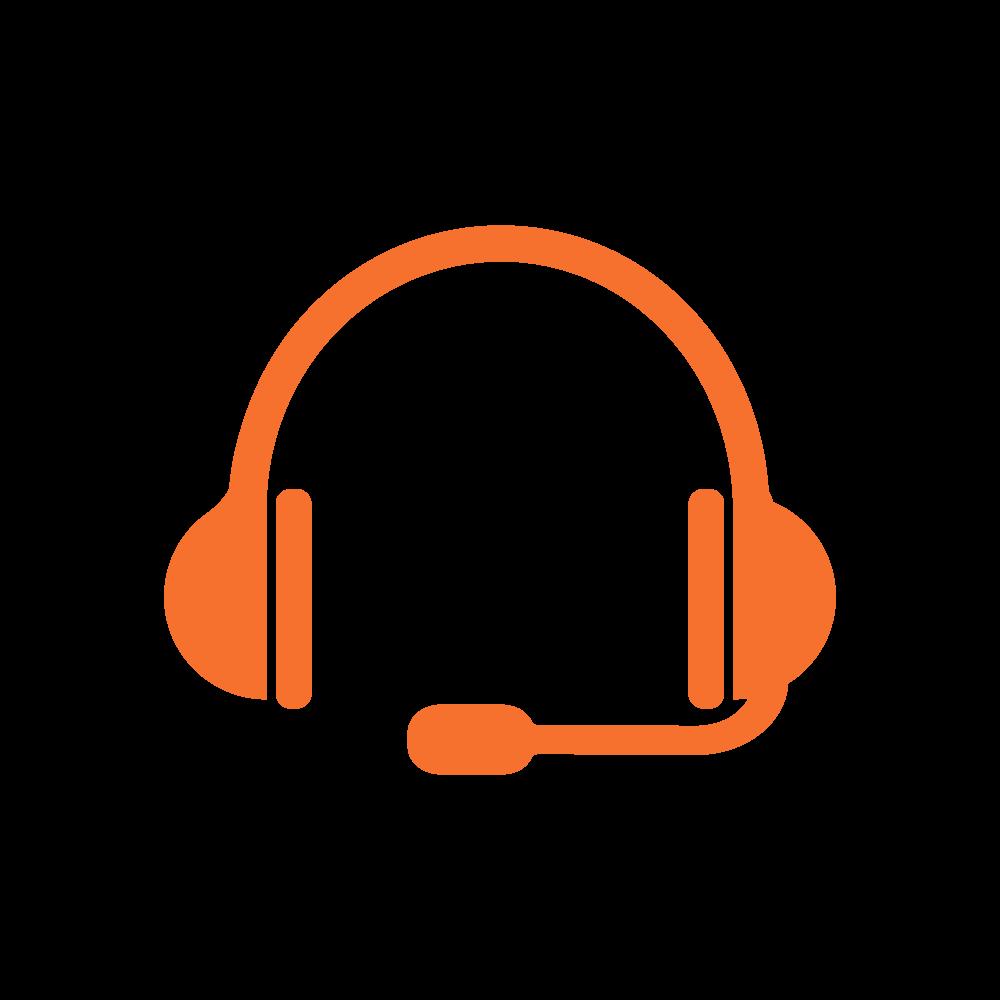headset---orange
